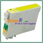 Epson 98 T098420 Compatible Yellow ink Cartridge