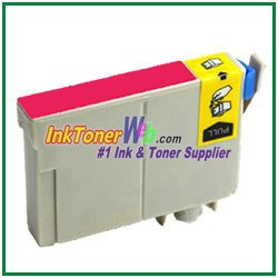 Epson 124 T124320 Compatible Magenta ink Cartridge