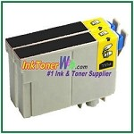Epson 125 T125120 Compatible Black ink Cartridge -2 Piece