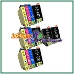 Epson 252XL T252XL120-T252XL420 Compatible ink Cartridges - 14 Piece Combo