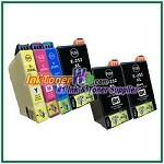 Epson 252XL T252XL120-T252XL420 Compatible ink Cartridges - 6 Piece Combo