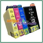 Epson 252XL T252XL120-T252XL420 Compatible ink Cartridges - 4 Piece Combo