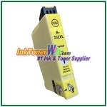 Epson 252XL T252XL420 Compatible Yellow ink Cartridge