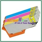 Epson 273XL T273XL220-T273XL420 Compatible Color Extra High Capacity ink Cartridges - 3 Piece Combo