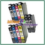 Epson 288XL T288XL120-T288XL420 Compatible ink Cartridges - 10 Piece Combo