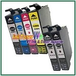 Epson 288XL T288XL120-T288XL420 Compatible ink Cartridges - 6 Piece Combo