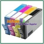 HP 564XL CN685WN-CN687WN CR277WN  (NEW VERSION) Compatible ink Cartridges - 4 Piece Combo