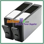HP 564XL CN684WN (NEW VERSION) Compatible Black ink Cartridge -2 Piece