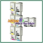 HP 940XL C4906AN-C4909AN Compatible ink Cartridges - 14 Piece Combo