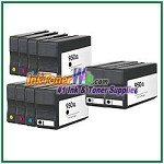 HP 950XL 951XL CN045AN-CN048AN Compatible ink Cartridges - 10 Piece Combo