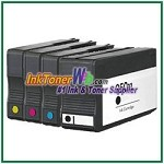 HP 950XL 951XL CN045AN-CN048AN  Compatible ink Cartridges - 4 Piece Combo