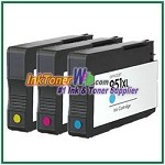 HP 951XL CN046AN-CN048AN Compatible ink Cartridges - 3 Piece Combo