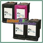 HP 61XL Compatible ink Cartridges - 4 Piece Combo