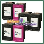 HP 61XL Compatible ink Cartridges - 6 Piece Combo