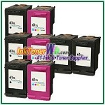 HP 61XL Compatible ink Cartridges - 8 Piece Combo