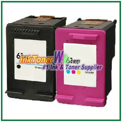 HP 61XL Compatible ink Cartridges - 2 Piece Combo
