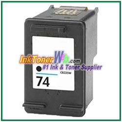 HP 74 CB335WN Compatible Black ink Cartridge