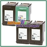 HP 94 95 Compatible ink Cartridges - 4 Piece Combo