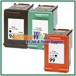 HP 94 95 99 Compatible ink Cartridges - 3 Piece Combo
