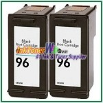 HP 96 C8767WN Compatible Black ink Cartridge -2 Piece