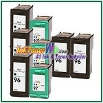 HP 96 97 Compatible ink Cartridges - 8 Piece Combo