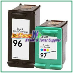 HP 96 97 Compatible ink Cartridges - 2 Piece Combo