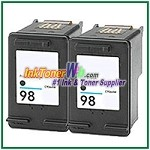 HP 98 C9364WN Compatible Black ink Cartridge -2 Piece