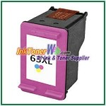 HP 63XL F6U63AN Compatible Color ink Cartridge