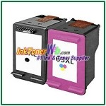 HP 63XL Compatible ink Cartridges - 2 Piece Combo