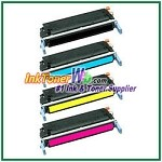 HP 641A C9720-23A Compatible Toner Cartridges - 4 Piece Combo