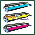 HP 645A C9731-33A Compatible Toner Cartridges - 3 Piece Combo