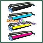 HP 645A C9730-33A Compatible Toner Cartridges - 4 Piece Combo