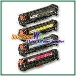 HP 304A CC530-33A Compatible Toner Cartridges - 4 Piece Combo