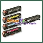 HP 304A CC530-33A Compatible Toner Cartridges - 5 Piece Combo