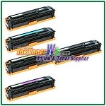 HP 128A CE320-23A Compatible Toner Cartridges - 5 Piece Combo