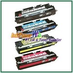 HP 308A / 311A Q2670A, Q2681-83A Compatible Toner Cartridges - 4 Piece Combo