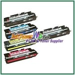 HP 308A / 311A Q2670A, Q2681-83A Compatible Toner Cartridges - 5 Piece Combo