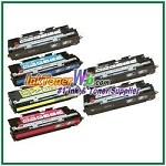 HP 308A / 311A Q2670A, Q2681-83A Compatible Toner Cartridges - 6 Piece Combo