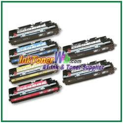 HP 308A / 309A Q2670-73A Compatible Toner Cartridges - 6 Piece Combo