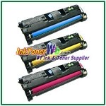 HP 122A Q3961-63A Compatible Toner Cartridges - 3 Piece Combo