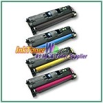 HP 122A Q3960-63A Compatible Toner Cartridges - 4 Piece Combo