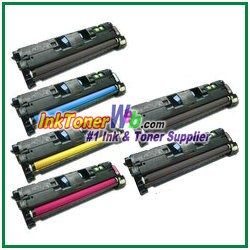 HP 122A Q3960-63A Compatible Toner Cartridges - 6 Piece Combo