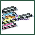 HP 501A / 502A Q6470-73A Compatible Toner Cartridges - 5 Piece Combo