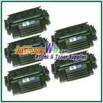 HP 98A 92298A Compatible Toner Cartridge - 5 Piece
