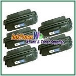 HP 96A C4096A Compatible Toner Cartridge - 5 Piece