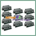 HP 27X C4127X High Yield Compatible Toner Cartridge - 10 Piece