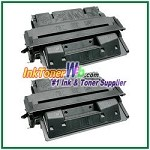 HP 27X C4127X High Yield Compatible Toner Cartridge - 2 Piece