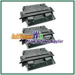 HP 27X C4127X High Yield Compatible Toner Cartridge - 3 Piece
