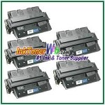 HP 61X C8061X High Yield Compatible Toner Cartridges - 5 Piece