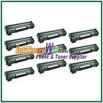 HP 78A CE278A Compatible Toner Cartridges - 10 Piece